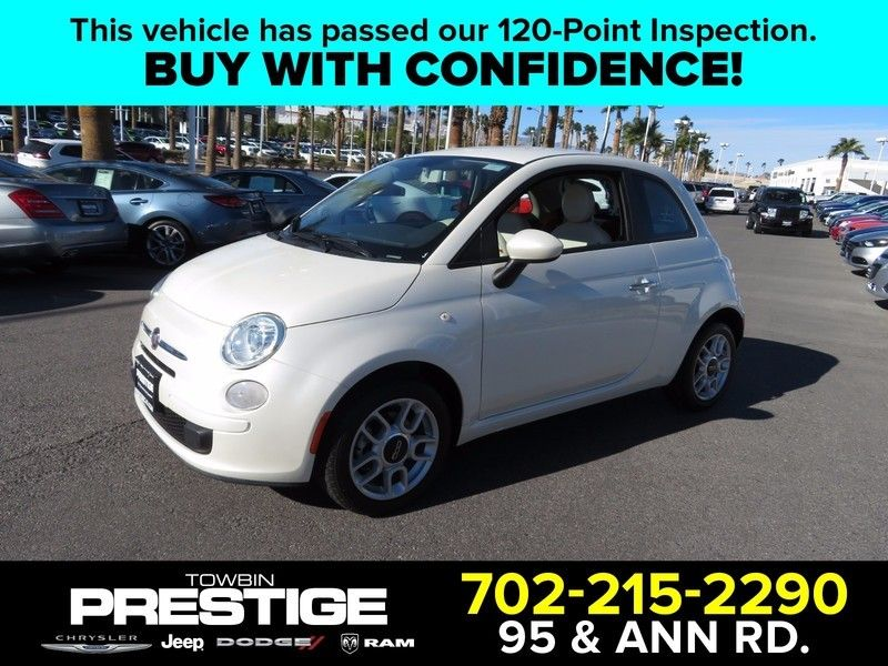 2012 FIAT 500 2dr Hatchback Pop - 17104137 - 0