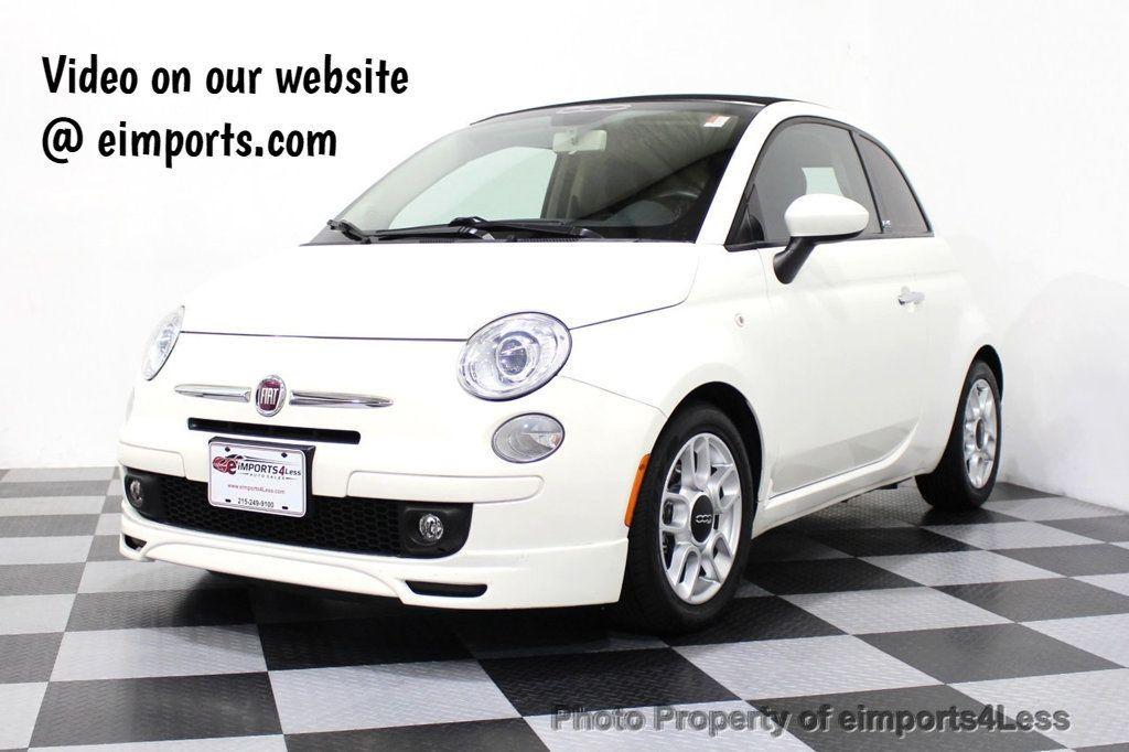 2012 FIAT 500 CERTIFIED 500C POP CONVERTIBLE - 16630358 - 0