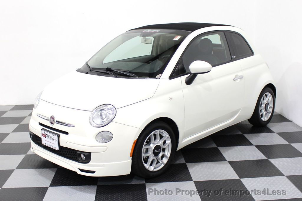 2012 FIAT 500 CERTIFIED 500C POP CONVERTIBLE - 16630358 - 13