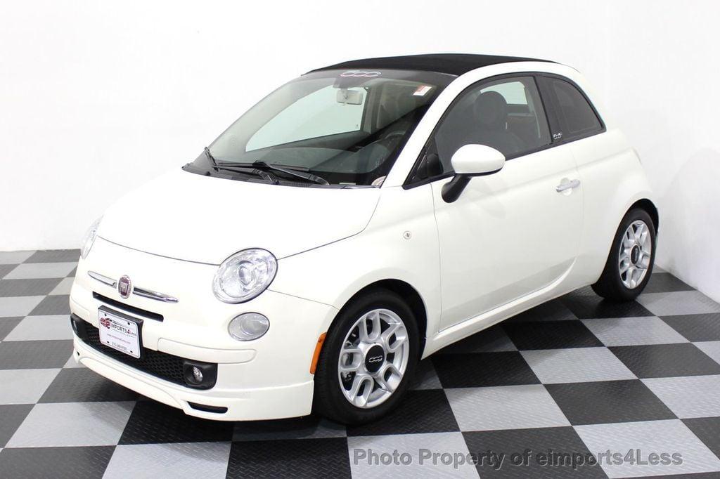 2012 FIAT 500 CERTIFIED 500C POP CONVERTIBLE - 16630358 - 13