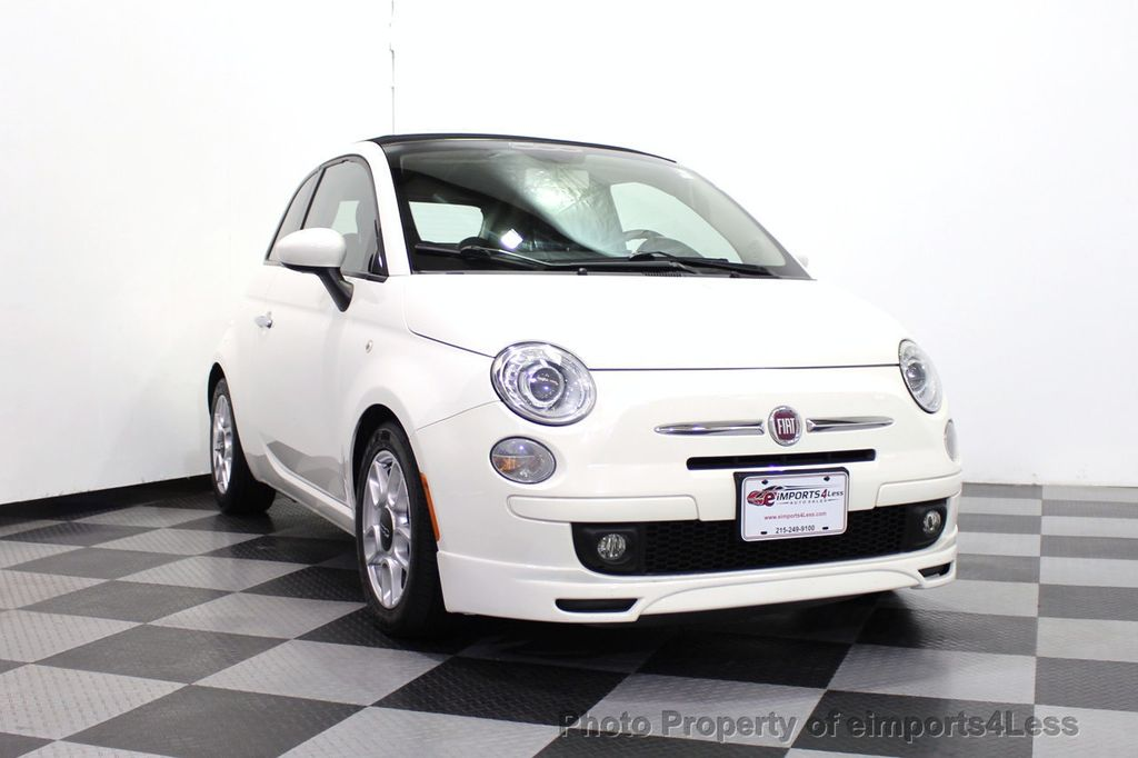 2012 FIAT 500 CERTIFIED 500C POP CONVERTIBLE - 16630358 - 14