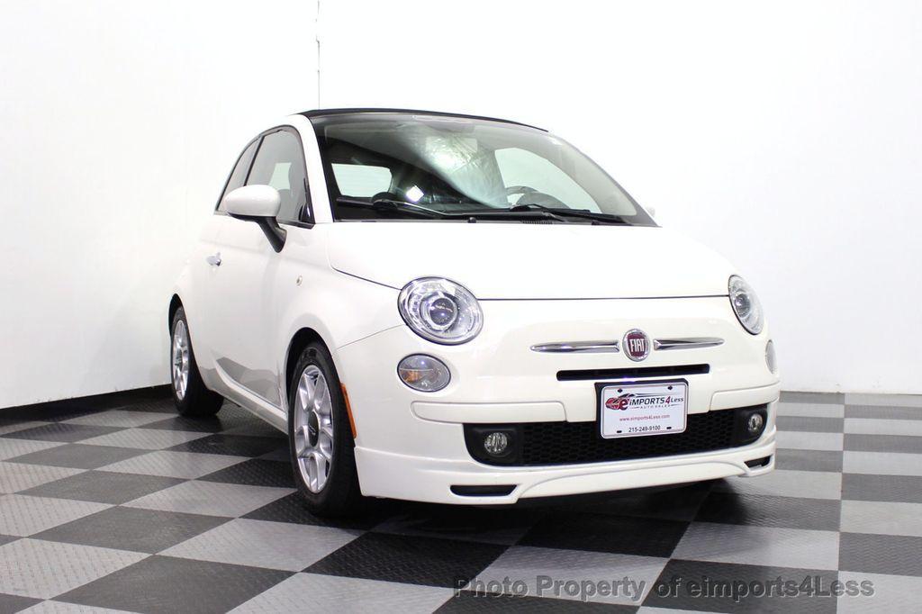 2012 FIAT 500 CERTIFIED 500C POP CONVERTIBLE - 16630358 - 14