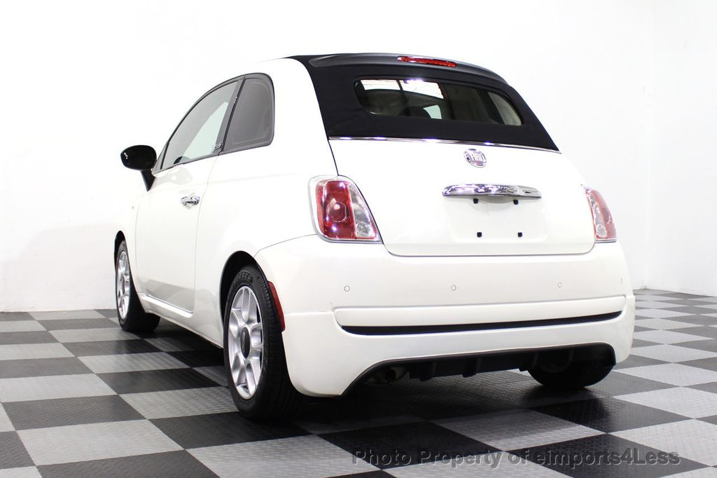 2012 FIAT 500 CERTIFIED 500C POP CONVERTIBLE - 16630358 - 15