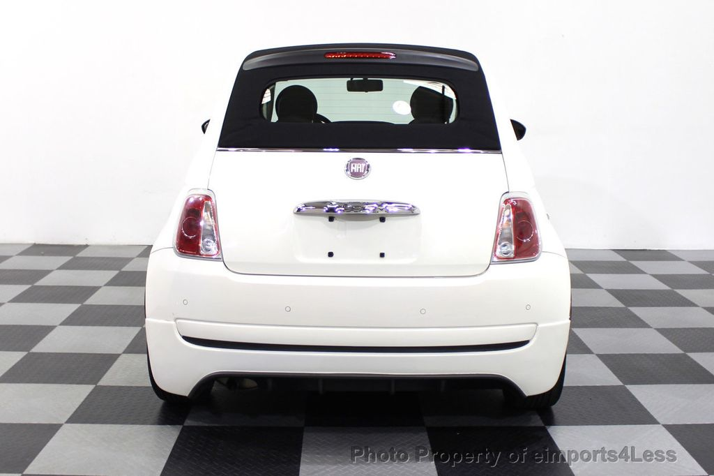 2012 FIAT 500 CERTIFIED 500C POP CONVERTIBLE - 16630358 - 16