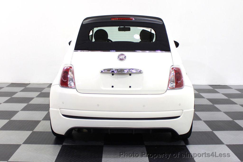 2012 FIAT 500 CERTIFIED 500C POP CONVERTIBLE - 16630358 - 16