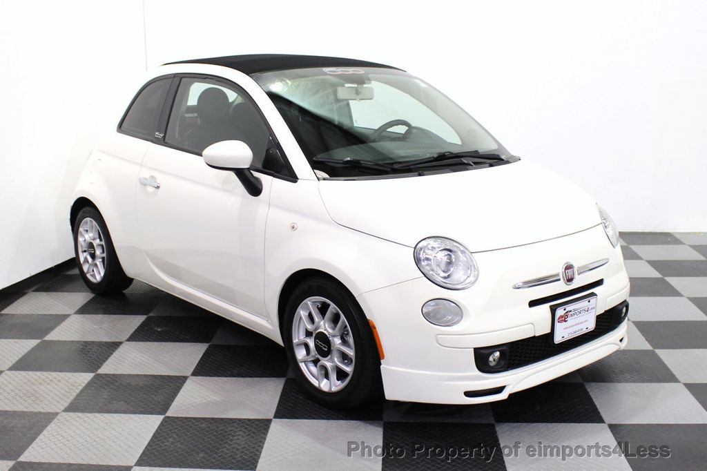 2012 FIAT 500 CERTIFIED 500C POP CONVERTIBLE - 16630358 - 1