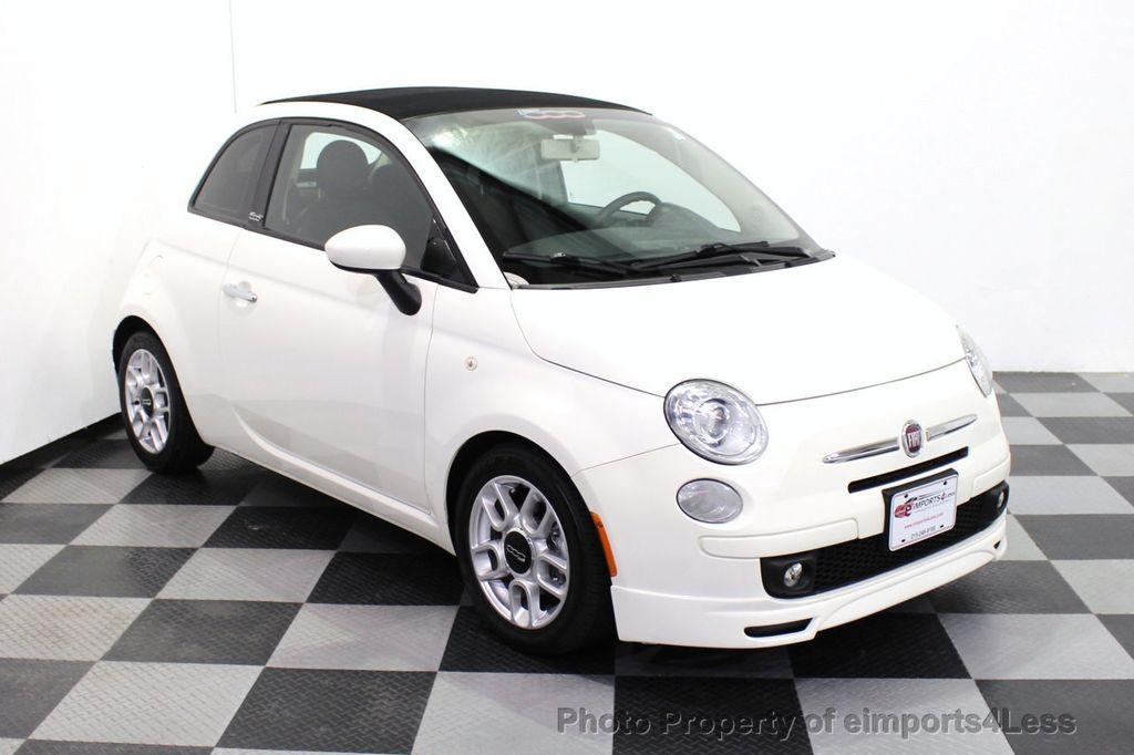 2012 FIAT 500 CERTIFIED 500C POP CONVERTIBLE - 16630358 - 1