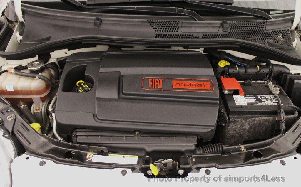 2012 FIAT 500 CERTIFIED 500C POP CONVERTIBLE - 16630358 - 19