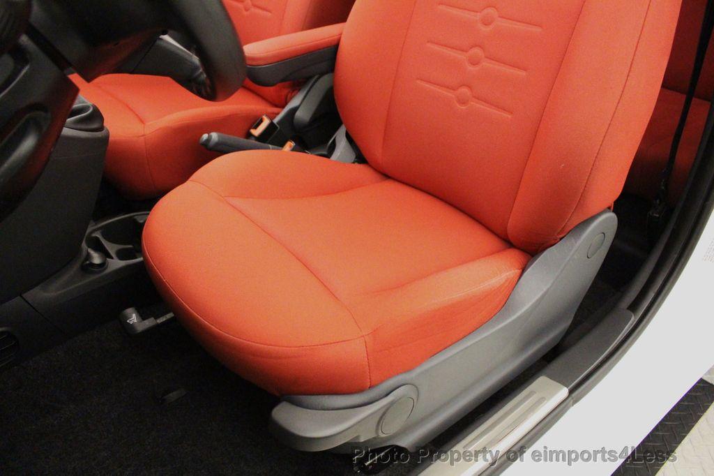2012 FIAT 500 CERTIFIED 500C POP CONVERTIBLE - 16630358 - 22