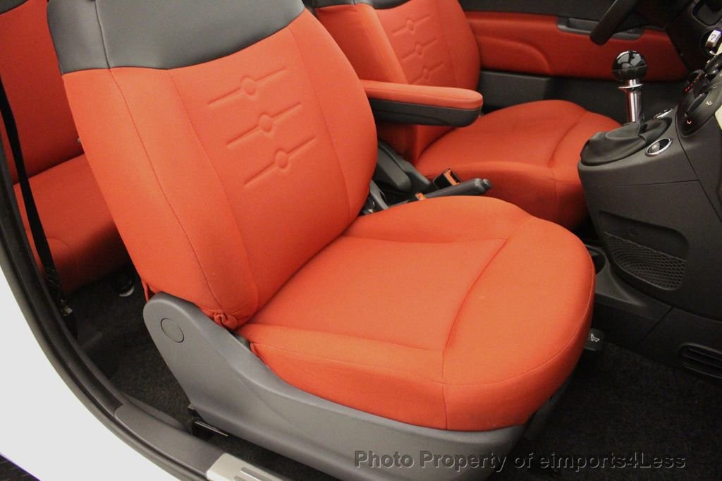 2012 FIAT 500 CERTIFIED 500C POP CONVERTIBLE - 16630358 - 23