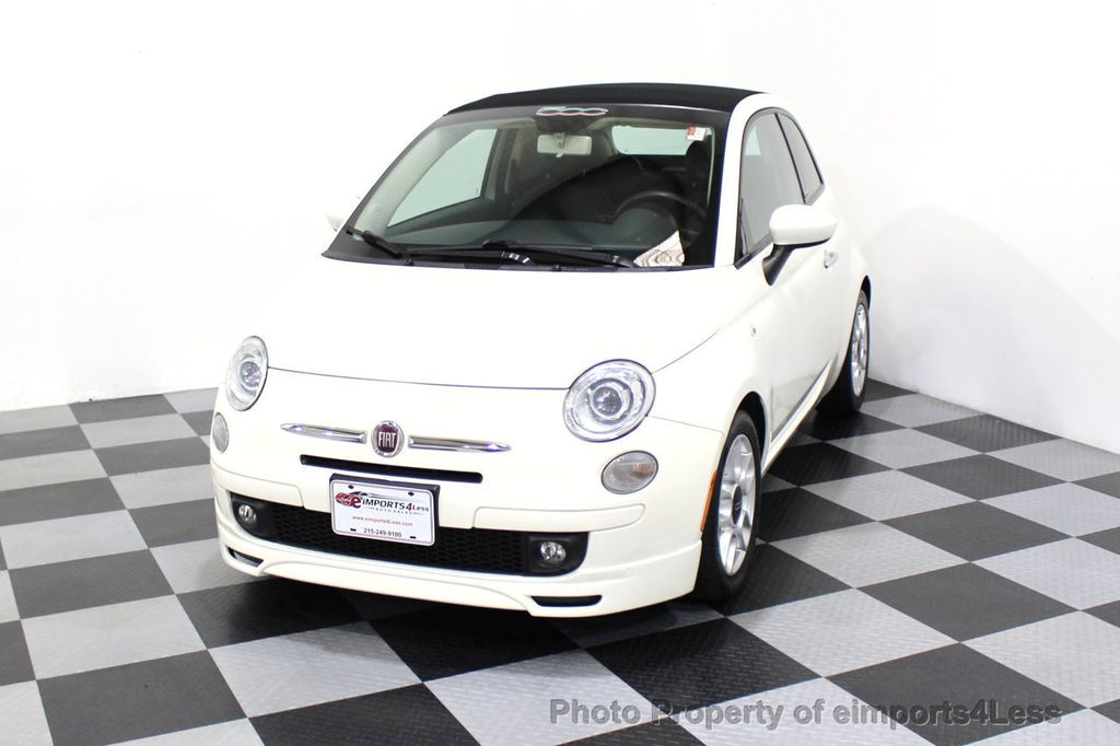 2012 FIAT 500 CERTIFIED 500C POP CONVERTIBLE - 16630358 - 27