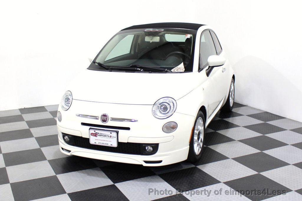 2012 FIAT 500 CERTIFIED 500C POP CONVERTIBLE - 16630358 - 27