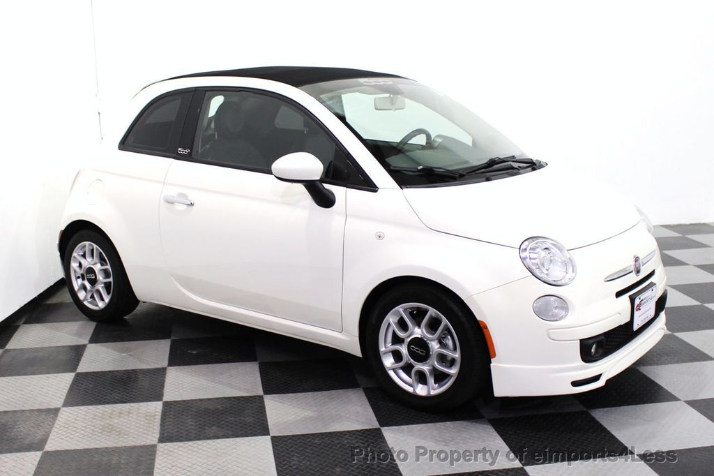 2012 FIAT 500 CERTIFIED 500C POP CONVERTIBLE - 16630358 - 28