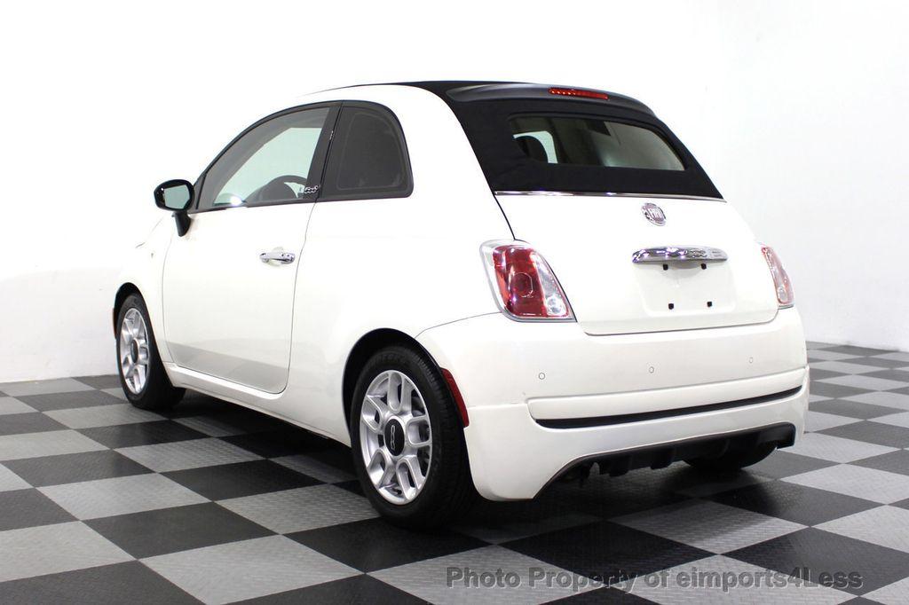 2012 FIAT 500 CERTIFIED 500C POP CONVERTIBLE - 16630358 - 2