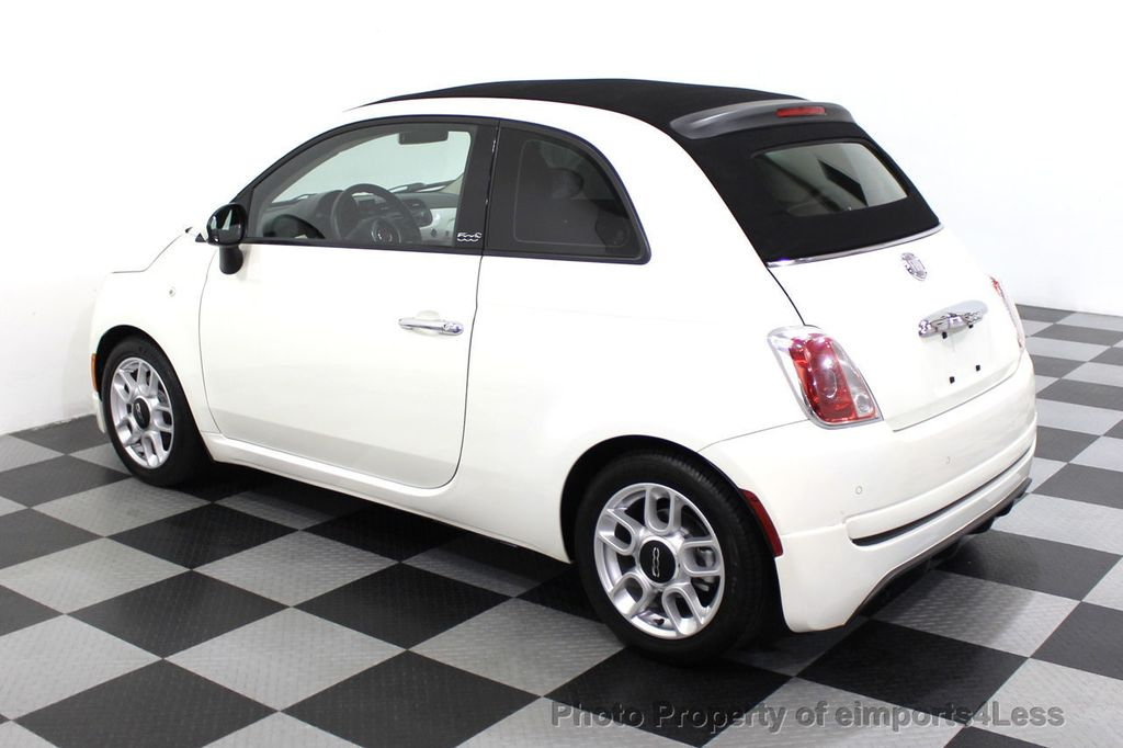 2012 FIAT 500 CERTIFIED 500C POP CONVERTIBLE - 16630358 - 29