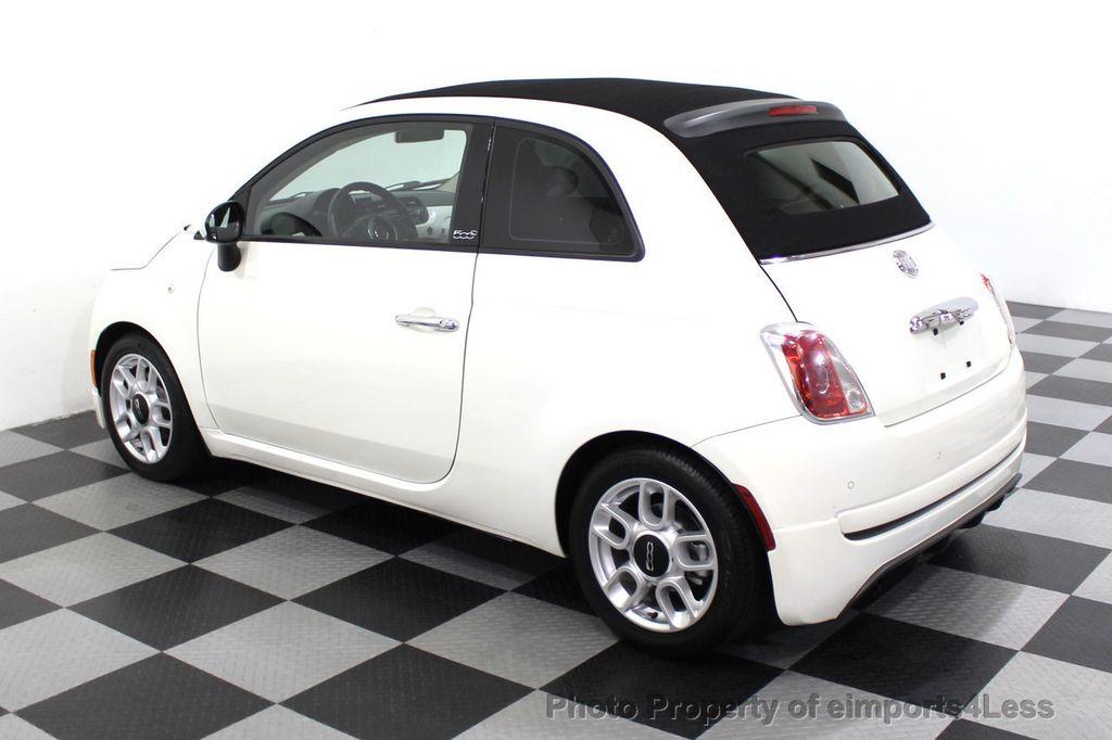 2012 FIAT 500 CERTIFIED 500C POP CONVERTIBLE - 16630358 - 29
