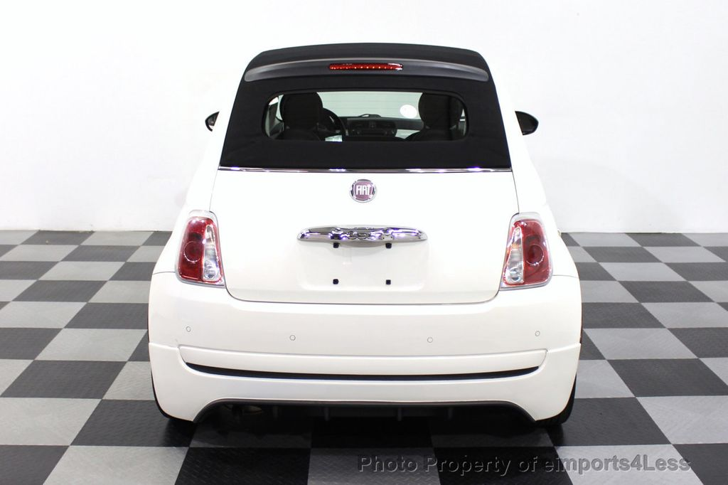 2012 FIAT 500 CERTIFIED 500C POP CONVERTIBLE - 16630358 - 30