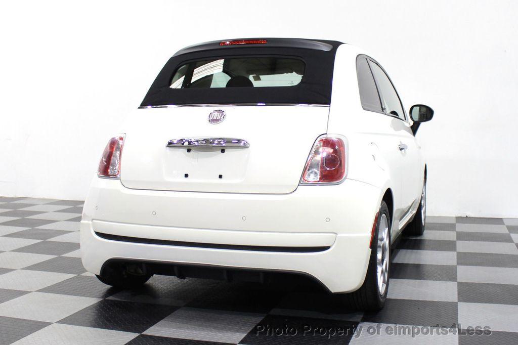 2012 FIAT 500 CERTIFIED 500C POP CONVERTIBLE - 16630358 - 31