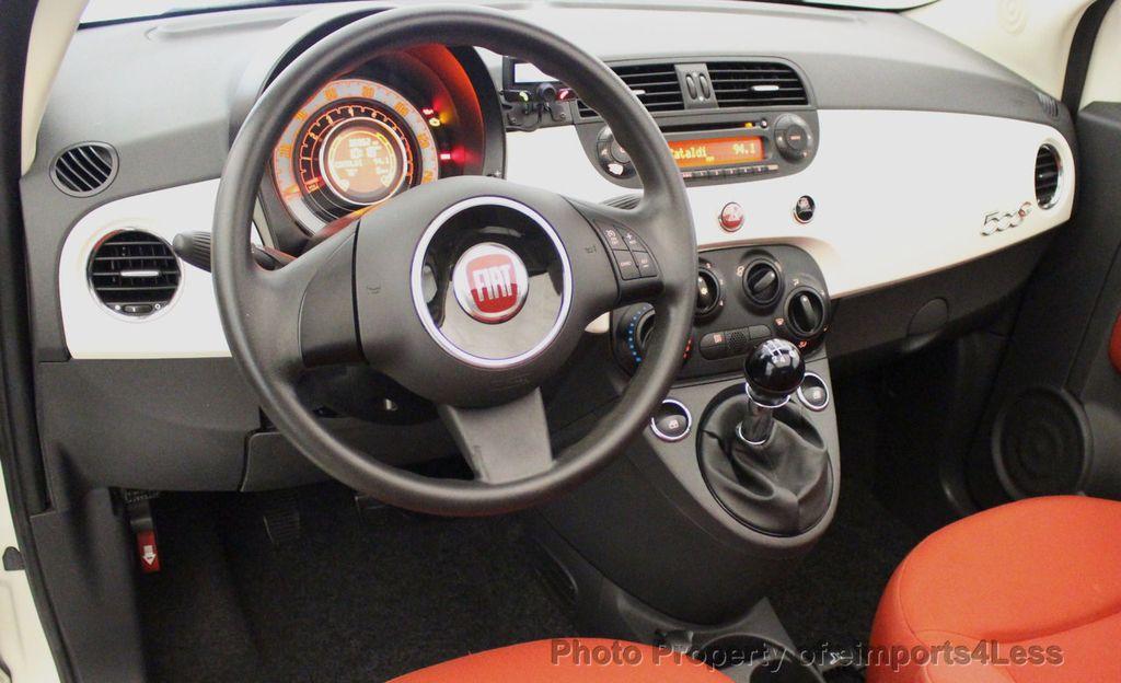 2012 FIAT 500 CERTIFIED 500C POP CONVERTIBLE - 16630358 - 32