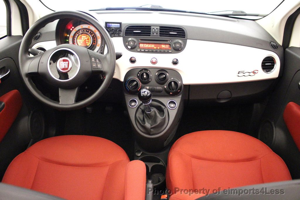 2012 FIAT 500 CERTIFIED 500C POP CONVERTIBLE - 16630358 - 33