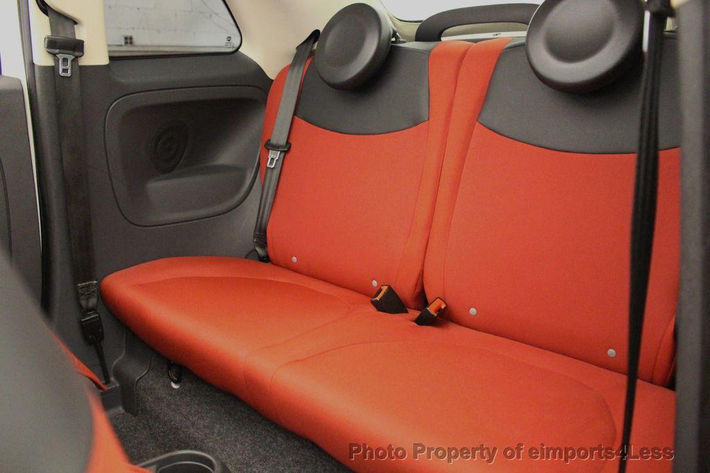 2012 FIAT 500 CERTIFIED 500C POP CONVERTIBLE - 16630358 - 35