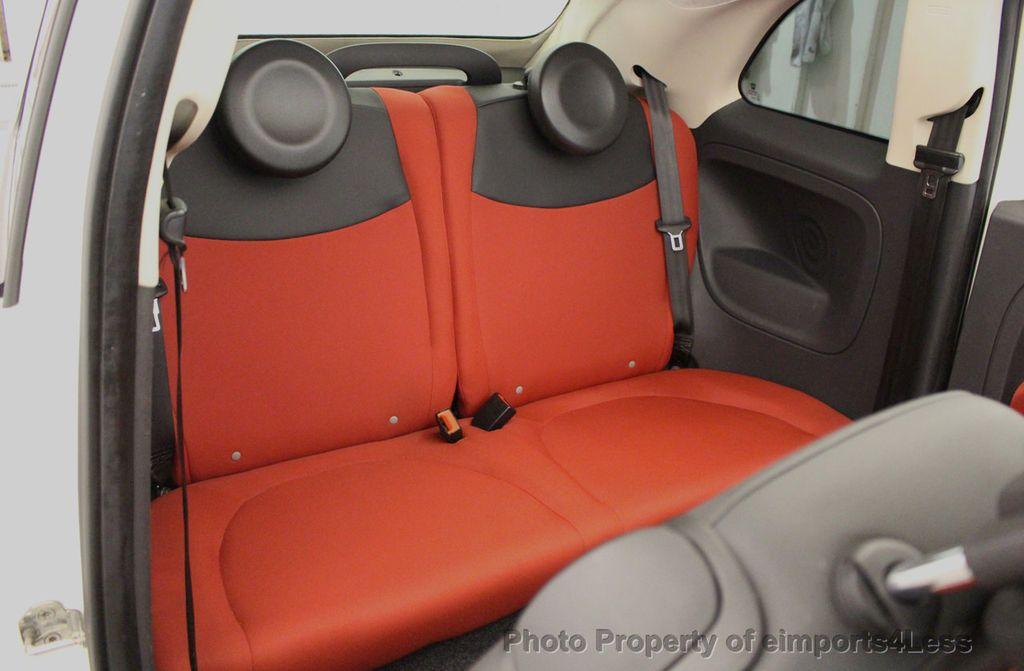 2012 FIAT 500 CERTIFIED 500C POP CONVERTIBLE - 16630358 - 36