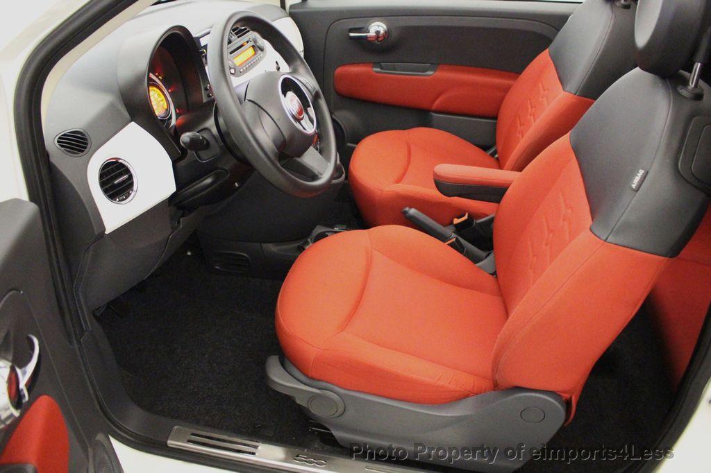 2012 FIAT 500 CERTIFIED 500C POP CONVERTIBLE - 16630358 - 37