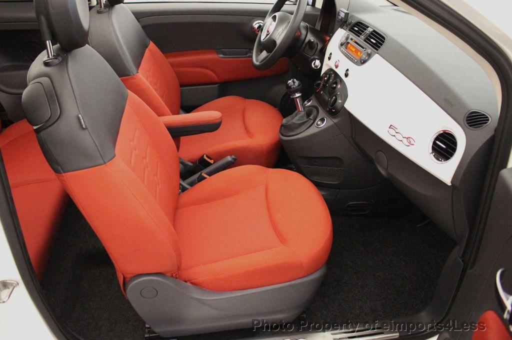 2012 FIAT 500 CERTIFIED 500C POP CONVERTIBLE - 16630358 - 38