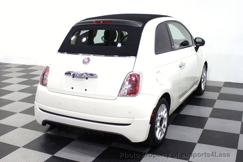 2012 FIAT 500 CERTIFIED 500C POP CONVERTIBLE - 16630358 - 3