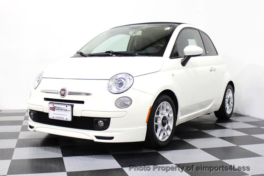 2012 FIAT 500 CERTIFIED 500C POP CONVERTIBLE - 16630358 - 43