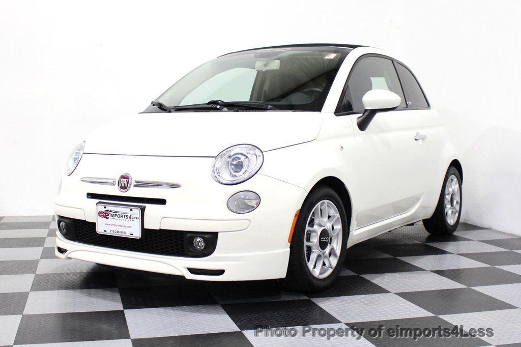 2012 FIAT 500 CERTIFIED 500C POP CONVERTIBLE - 16630358 - 43