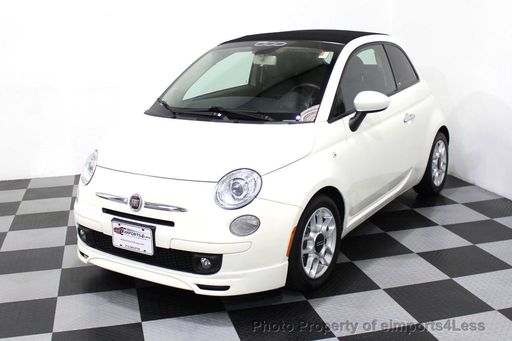 2012 FIAT 500 CERTIFIED 500C POP CONVERTIBLE - 16630358 - 44