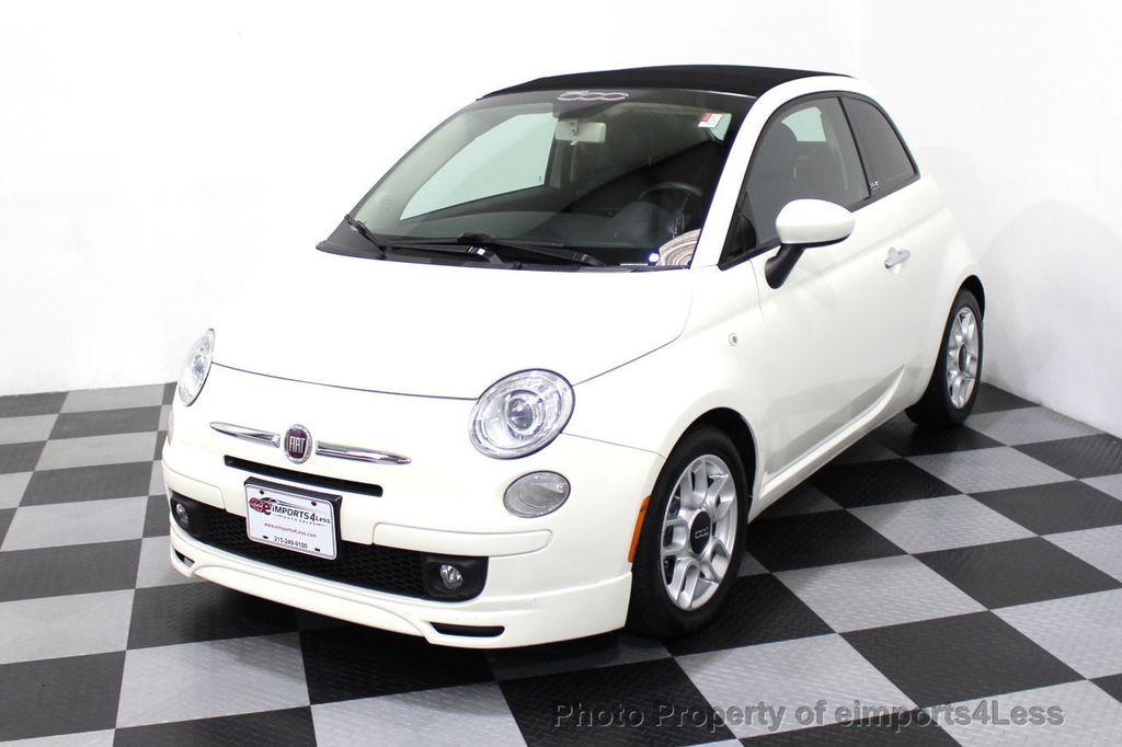 2012 FIAT 500 CERTIFIED 500C POP CONVERTIBLE - 16630358 - 44