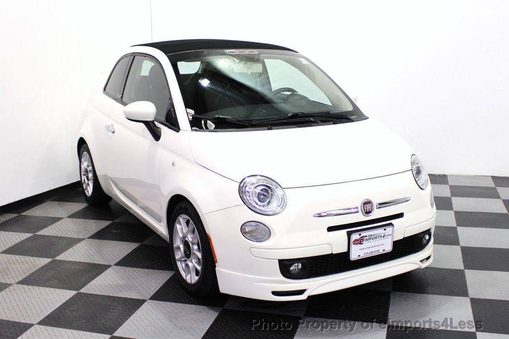 2012 FIAT 500 CERTIFIED 500C POP CONVERTIBLE - 16630358 - 45