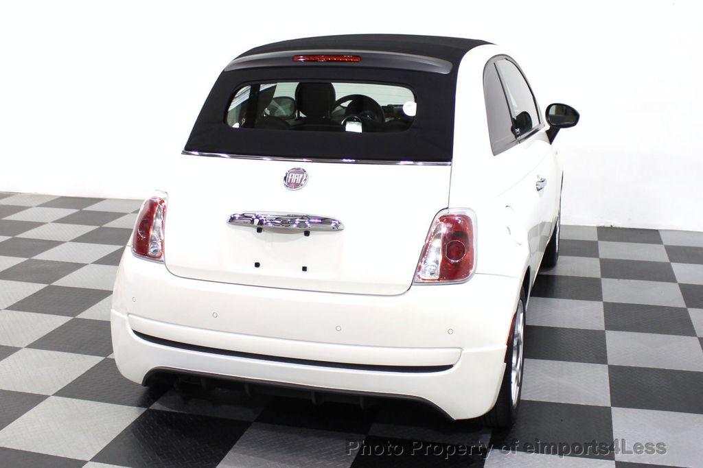 2012 FIAT 500 CERTIFIED 500C POP CONVERTIBLE - 16630358 - 47