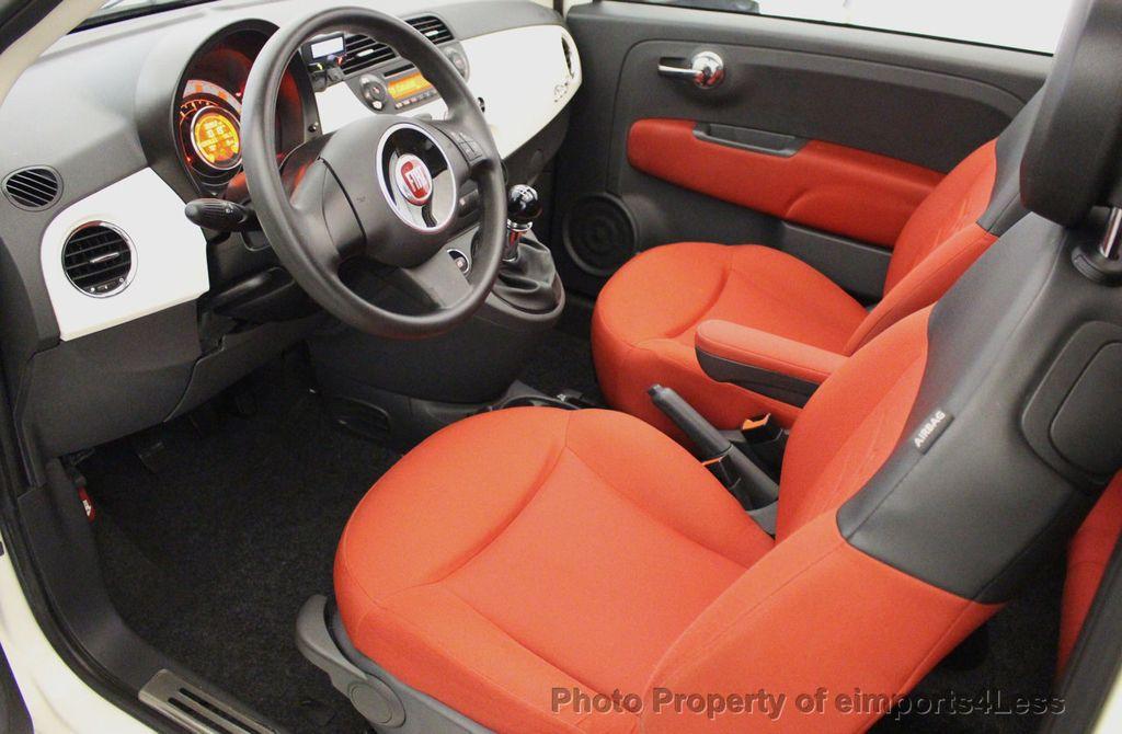 2012 FIAT 500 CERTIFIED 500C POP CONVERTIBLE - 16630358 - 48