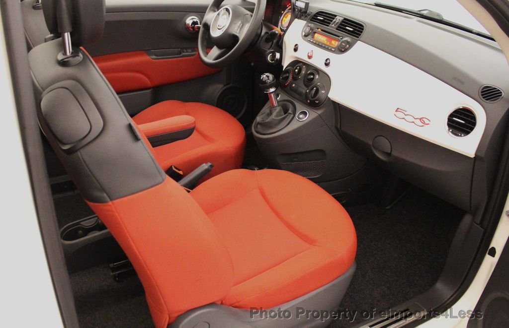 2012 FIAT 500 CERTIFIED 500C POP CONVERTIBLE - 16630358 - 49