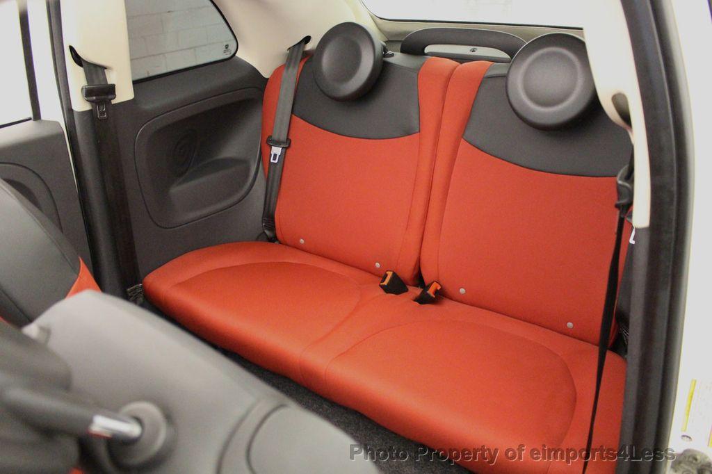 2012 FIAT 500 CERTIFIED 500C POP CONVERTIBLE - 16630358 - 50