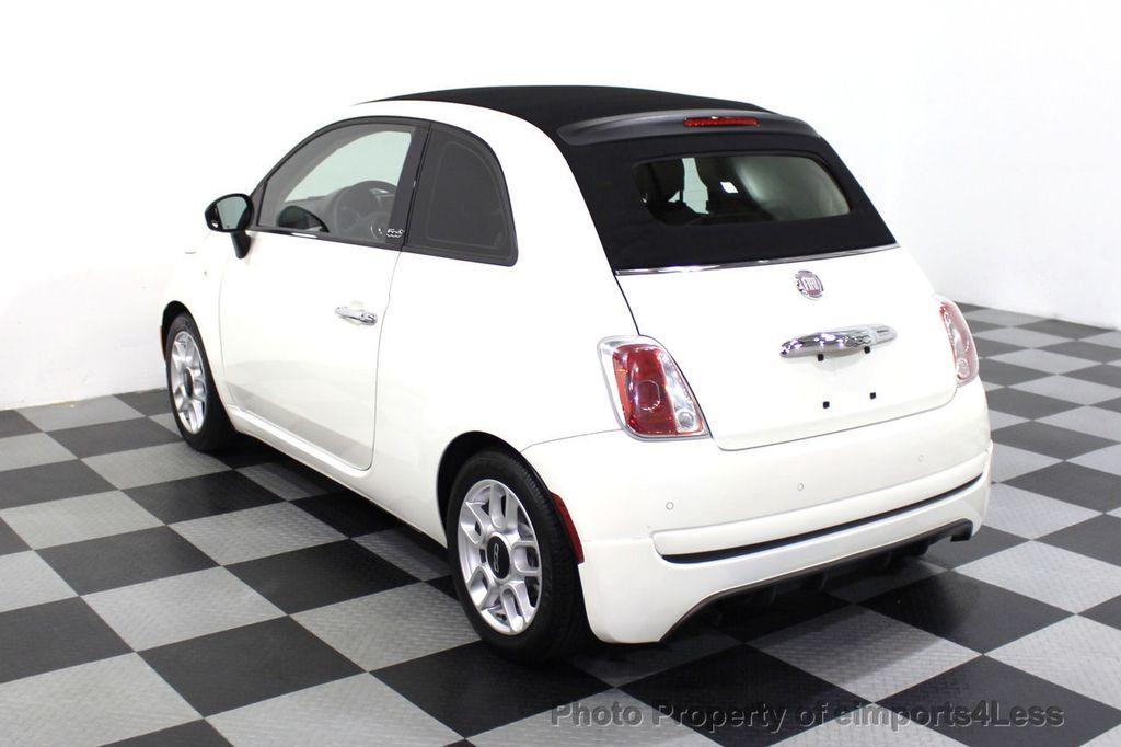 2012 FIAT 500 CERTIFIED 500C POP CONVERTIBLE - 16630358 - 53