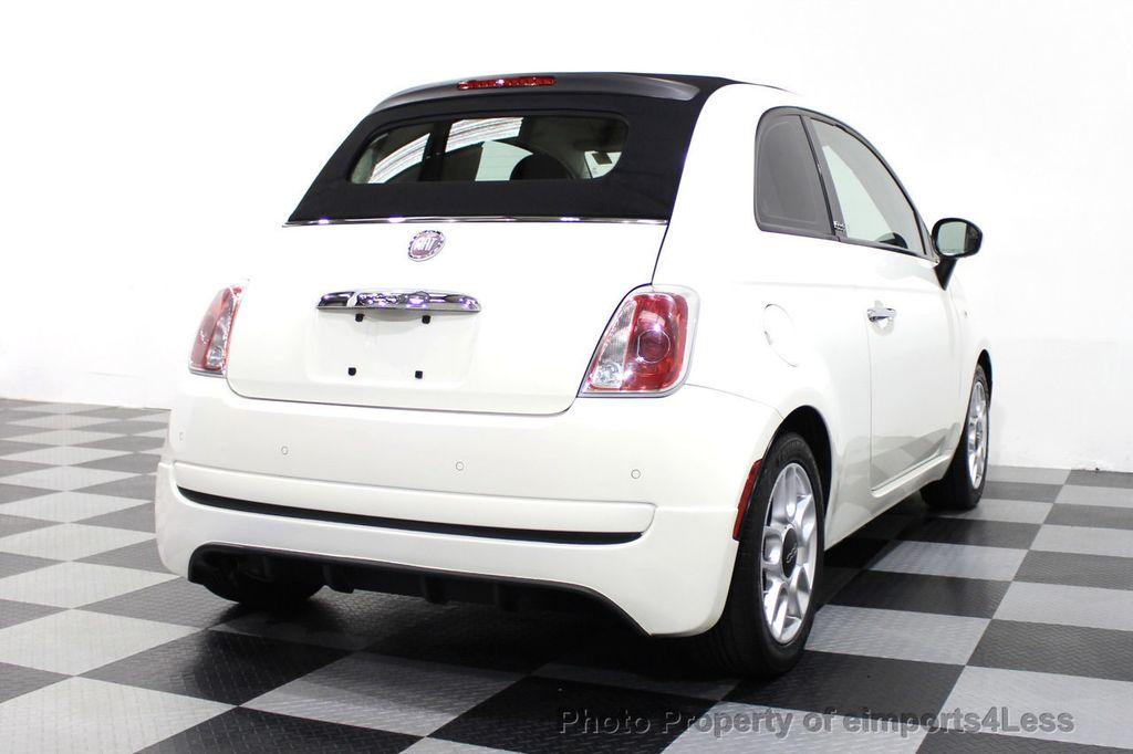 2012 FIAT 500 CERTIFIED 500C POP CONVERTIBLE - 16630358 - 54
