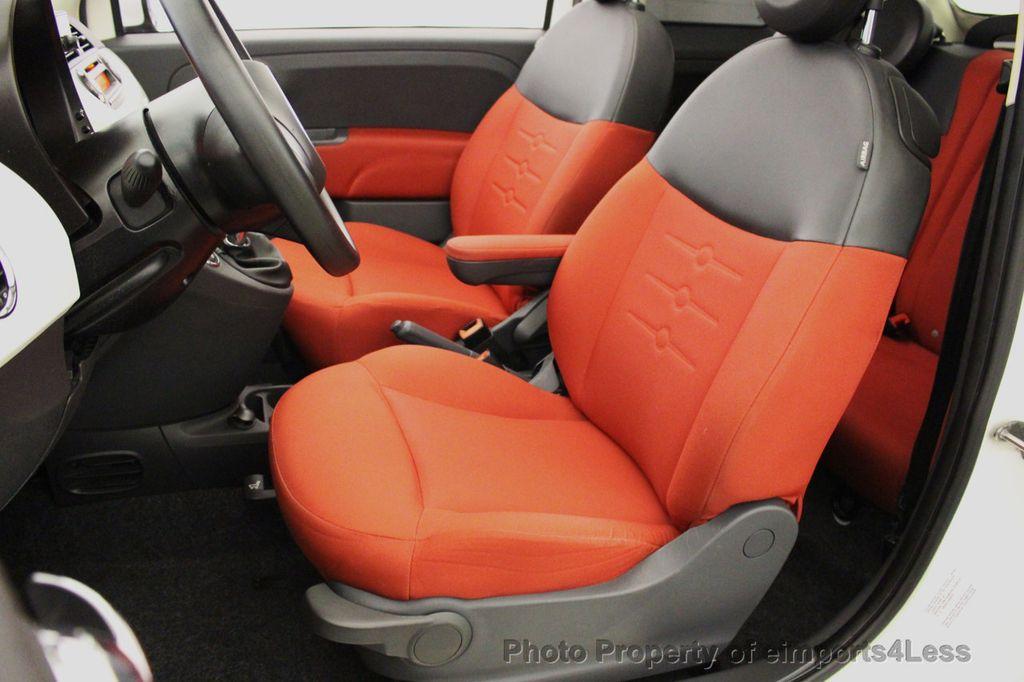 2012 FIAT 500 CERTIFIED 500C POP CONVERTIBLE - 16630358 - 5