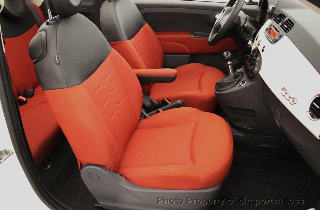 2012 FIAT 500 CERTIFIED 500C POP CONVERTIBLE - 16630358 - 6