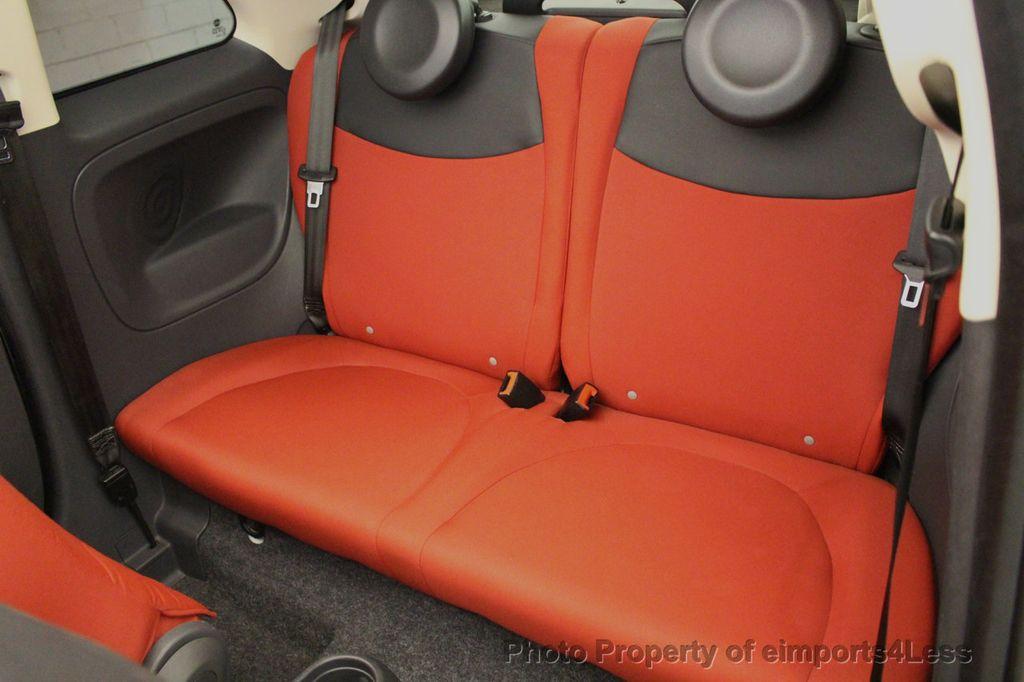 2012 FIAT 500 CERTIFIED 500C POP CONVERTIBLE - 16630358 - 7