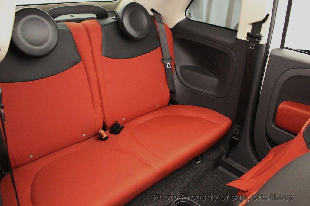 2012 FIAT 500 CERTIFIED 500C POP CONVERTIBLE - 16630358 - 8