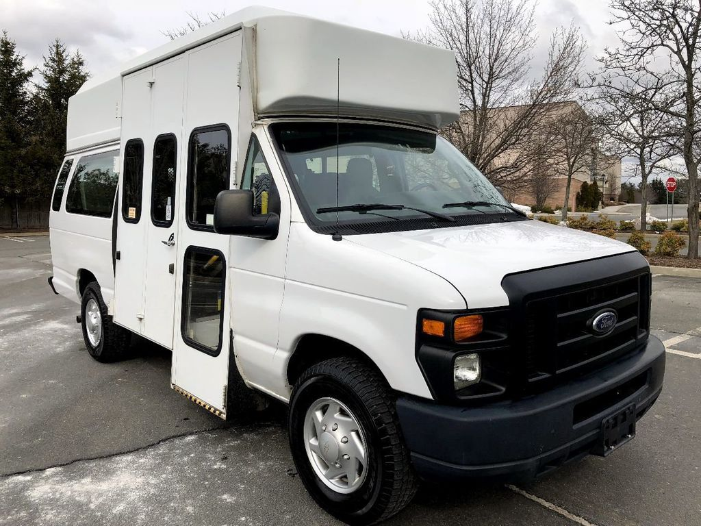 2012 Ford E350 Extended Wheelchair Van For Sale For Adults Medical Transport Mobility ADA Handicapped - 17409591 - 0