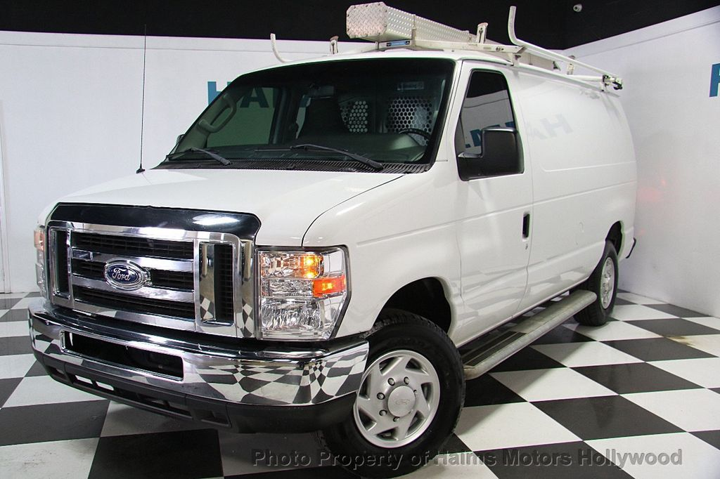 2012 Used Ford Econoline Cargo Van E-250 Commercial at ... - photo#20