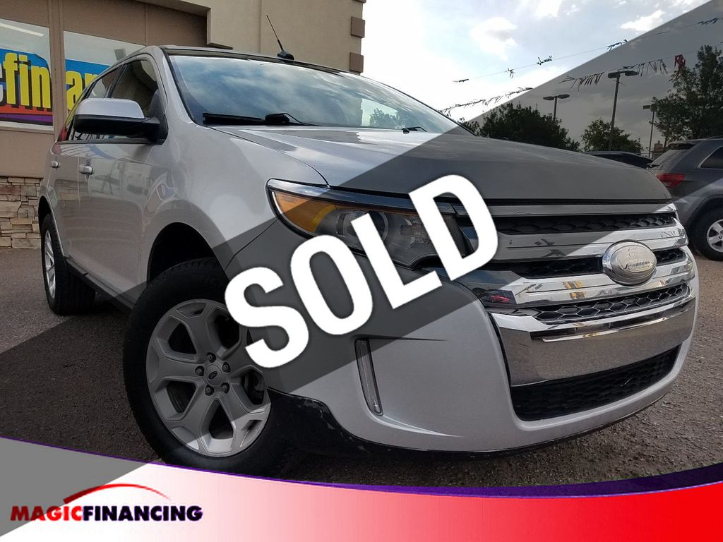 2012 Used Ford Edge 4dr SEL FWD at Magic Financing Serving Denver, CO, IID  17824547
