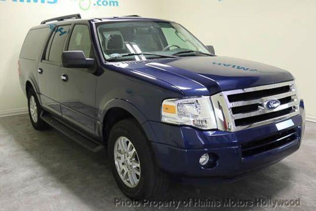 2012 used ford expedition el xlt at haims motors serving fort lauderdale hollywood miami fl. Black Bedroom Furniture Sets. Home Design Ideas