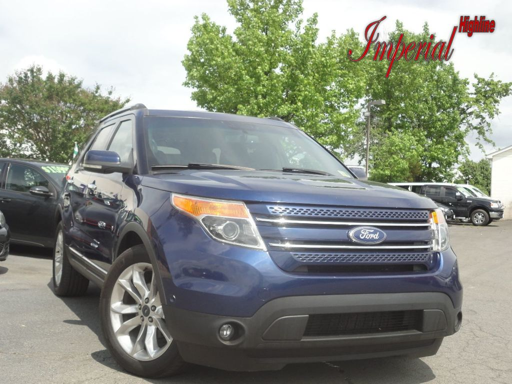 2012 Ford Explorer FWD 4dr Limited - 17679709 - 0