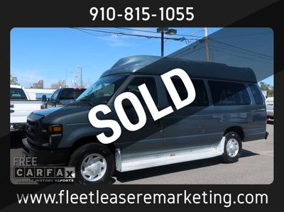 2012 Ford E-350 Econoline Extended Van w/ Wheelchair Lift